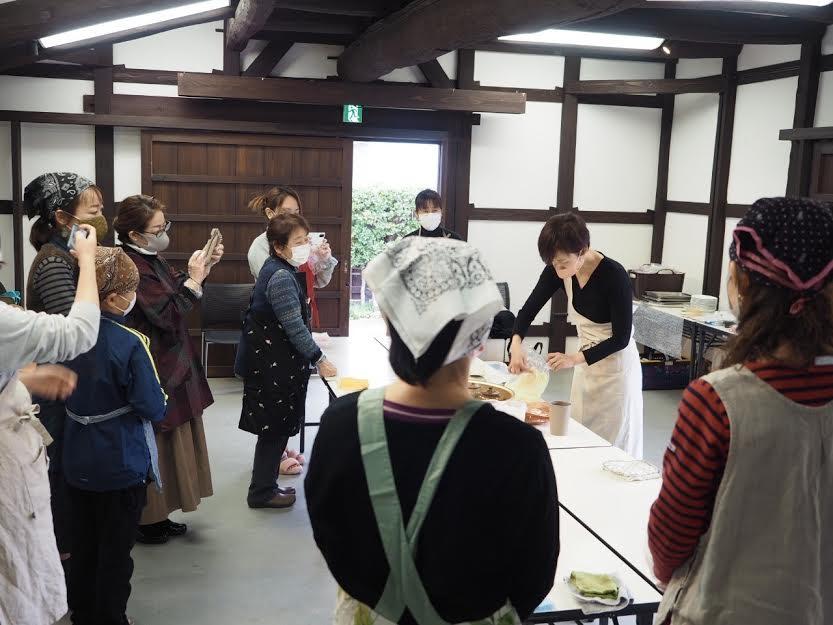 キムチ教室うの家11/23開催